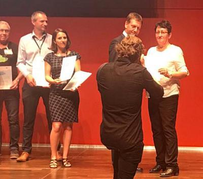 Vorschaubild zur Meldung: Wir sind Preisträger!