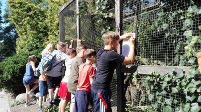 Vorschaubild zur Meldung: Besuch der Zooschule in Greifswald