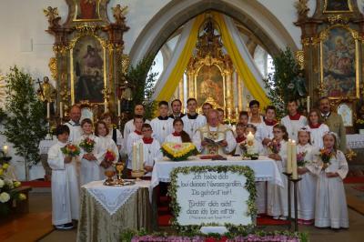 Priesterjubiläum Miltach 2019