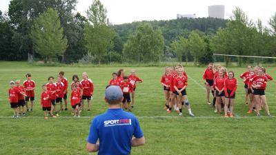 KKJS 2019: Eröffnung der Faustball-Wettkämpfe in Hirschfelde