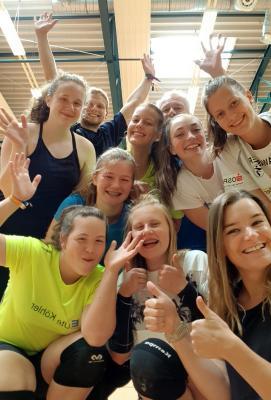 Foto zur Meldung: Erstes Trainingslager der U16-Volleyballmannschaft war voller Erfolg