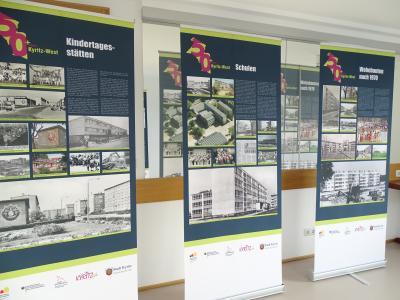 """Vorschaubild zur Meldung: Wanderausstellung """"Kyritz-West 1950 bis heute"""" im Rathaus zu Gast"""