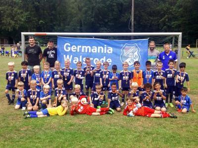 Foto zur Meldung: U07: G-Jugend - Endspieltag in Hodenhagen