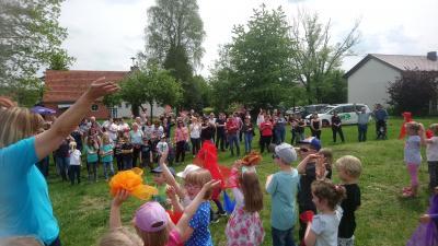 Sommerfest Kindergarten Regenbogenland
