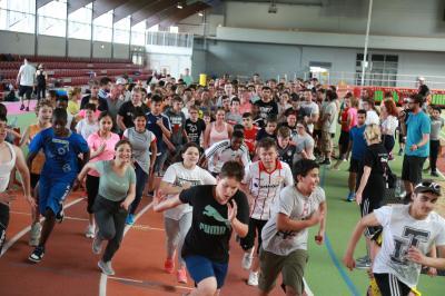 Foto zur Meldung: Sportfest in der Leichtathletikhalle Arena-Sportpark am 18.06.2019