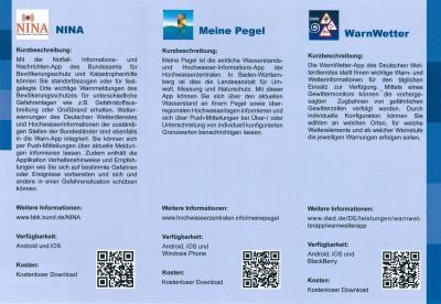 Vorschaubild zur Meldung: Warn-App