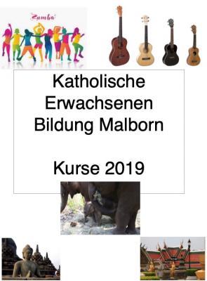 Vorschaubild zur Meldung: KEB Malborn - Katholische Erwachsenenbildung im Bistum Trier, Fachstelle Mittelmosel: Kurse ab Oktober