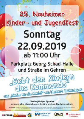 25 Jahre Nauheimer Kinder- und Jugendfest