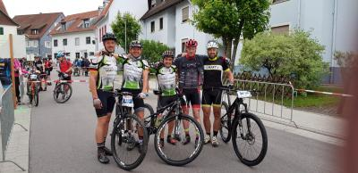 Ralf Hauschild, Peter Dreymann, Matthias Klingebiel, Tobias Bruer (WSV Südharz) und Jens Oepkes (Foto: Kirsten del Ciancio)