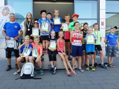 Foto zur Meldung: Erfolgreicher Thüringer Schülercup - 19 Medaillen für den WSC Nachwuchs