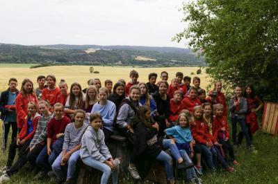 Foto zur Meldung: Sommerferiencamp der PSU in Straußberg