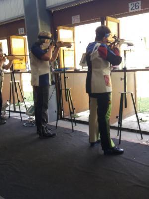 Vorschaubild zur Meldung: Schützen aus dem KSV Wittenberg 1990 e.V. bei Landesmeisterschaften in Halle wieder auf dem Siegerpodest