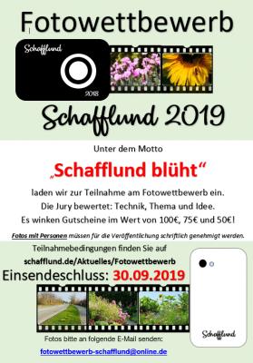 Foto zur Meldung: Fotowettbewerb 2019 - Schafflund blüht