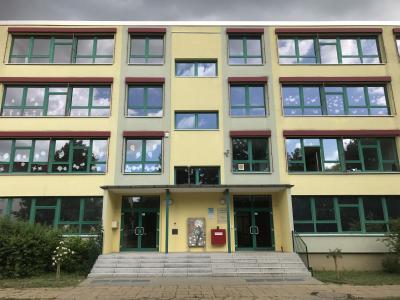 Vorschaubild zur Meldung: Baufortschritt Schollschule