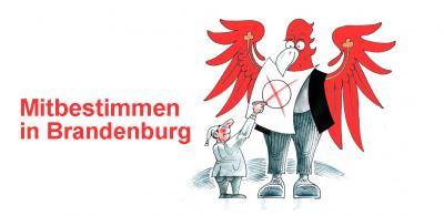 Vorschaubild zur Meldung: Bekanntmachung der Wahlbehörde - Einsichtnahme in das Wählerverzeichnis und Erteilung von Wahlscheinen für die Wahl zum 7. Landtag Brandenburg