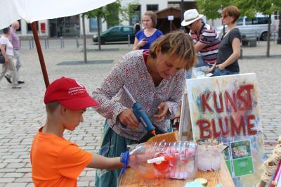 Vorschaubild zur Meldung: Projekttag der Kitas auf dem Marktplatz