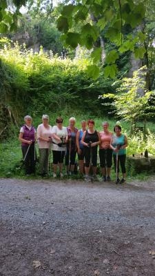 Vorschaubild zur Meldung: Nordic-Walking Gruppe war im Andreasbachtal