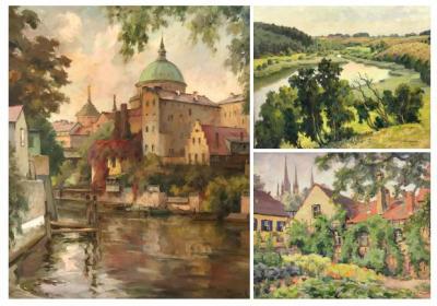 Unser Bild zeigt drei Werke von Zank und Gericke.