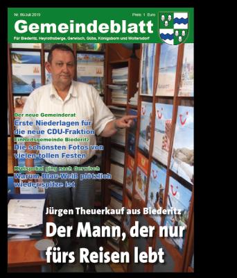 Das neue Gemeindeblatt