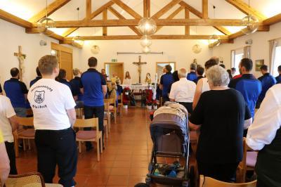 Foto zur Meldung: TSV Blaibach feiert sein 90jähriges Bestehen mit einem Gottesdienst
