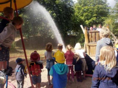 Foto zur Meldung: Feuerwehrfest im Fuchsbau