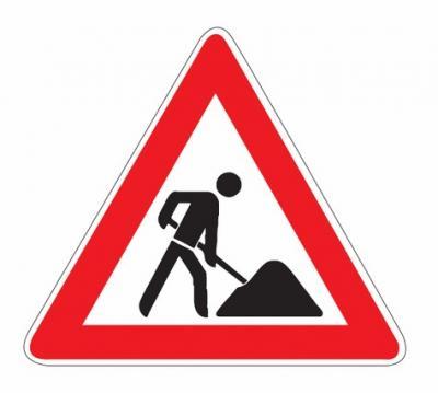 Foto zu Meldung: Baustelleninformation des Landesbetriebes Straßenwesen