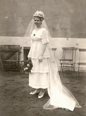 Archiv historische Alltagsfotografie | Braut um 1920