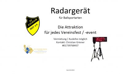 Radargerät
