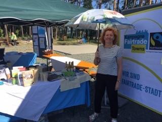 Foto zur Meldung: Erstes Fairtrade-Fußballturnier im Landkreis Bayreuth