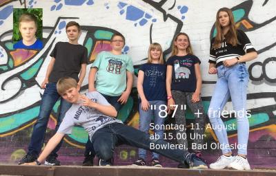 Vorschaubild zur Meldung: Die Band-AG spielt am 11 August ab 15 Uhr in der Bowlerei