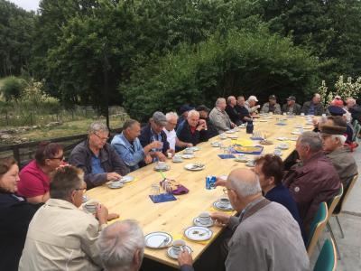 Vorschaubild zur Meldung: Grillnachmittag der Alters- und Ehrenabteilung in Worin 2019
