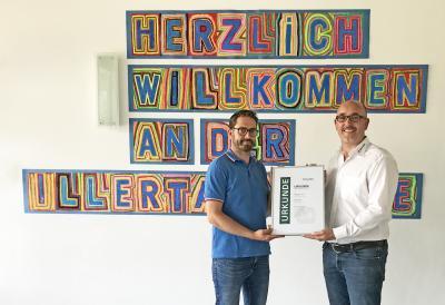 Vorschaubild zur Meldung: Neue Bildungspartnerschaft zwischen der Illertalschule Bonlanden und Max Wild