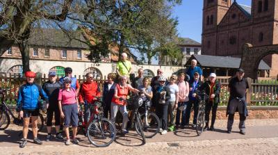 Bild der Meldung: Seniorenradler*innen erkunden den Frankfurter Grüngürtel