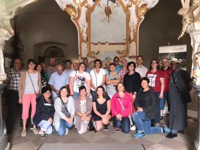 Teilnehmer/innen des Ausflugs (Foto:privat)