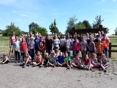 Foto zur Meldung: Wald bewegt – und der SV Laudert-Wiebelsheim e.V. auch