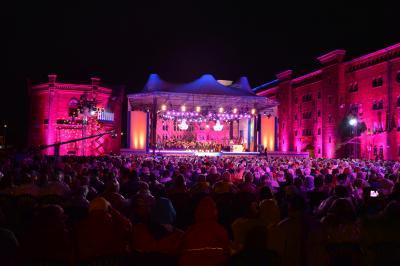 Die 20. Elbeladfestspiele begeisterten an beiden Abenden I Foto: Martin Ferch