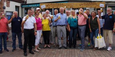 Vorschaubild zur Meldung: Das 10. BlueMoon und BierMeilenFest fand bei den Gästen großartigen Anklang