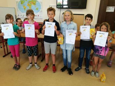 Teilnehmer Klasse 3