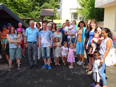 """Vorschaubild zur Meldung: Sommerfest der """"Zwergenstube"""" Aufenau"""