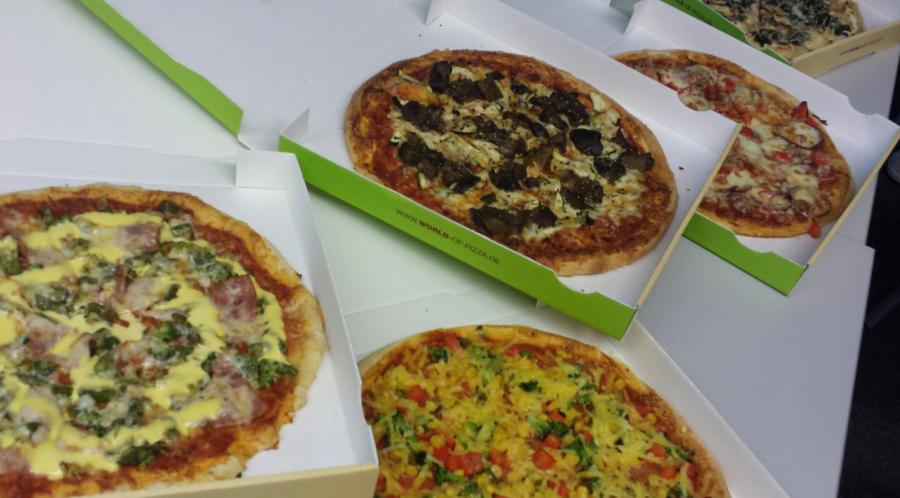 Bild der Meldung: X-Mas Pizza-Essen