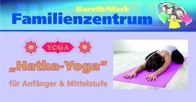 Vorschaubild zur Meldung: Hatha-Yoga für Anfänger und Mittelstufe im Familien- und Freizeittreff