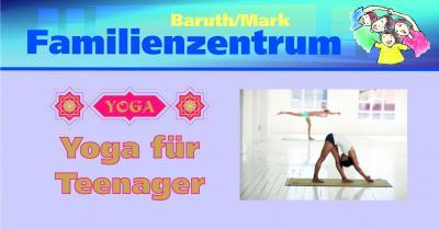 Vorschaubild zur Meldung: Yoga für Teenager im Familien- und Freizeittreff