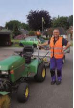 Foto zur Meldung: Der neue Gemeindearbeiter stellt sich vor