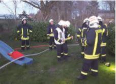 Foto zur Meldung: Gemeinsame Übung mit der FF Riesbriek
