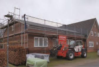 """Foto zur Meldung: Neues Dach für die """"Alte Gastwirtschaft"""""""