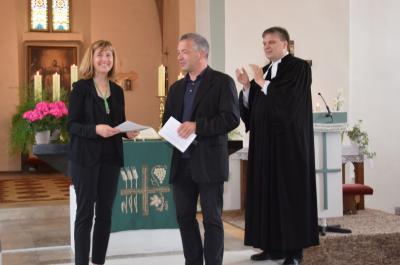 """Foto zur Meldung: Organistin und Chorleiterin Christel Hentschel aus Platz erhält den renommierten Kirchenmusikpreis """"Soli Deo Gloria"""""""
