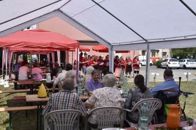 Vorschaubild zur Meldung: Sommerfest in der Sozialstation in Wittenberge