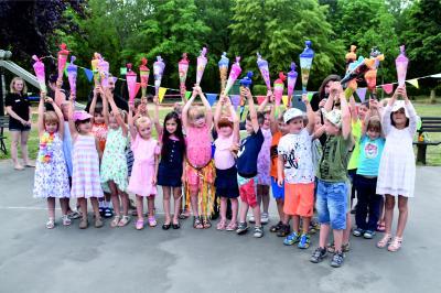 """Vorschaubild zur Meldung: Sommerfest im """"Haus der kleinen Strolche"""" in Wittenberge"""