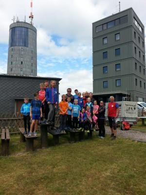 Foto zur Meldung: Trainingscamp am Inselsberg