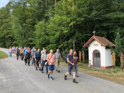Fuß0wallfahrt 2019 Lamberg Miltach